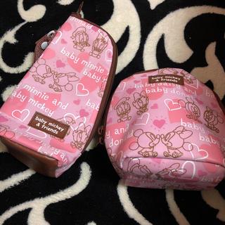 ディズニー(Disney)の哺乳瓶ケース&マグマグケースセット☆(その他)