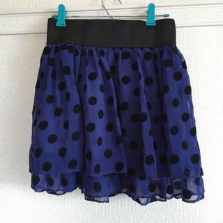 水玉スカート(ミニスカート)
