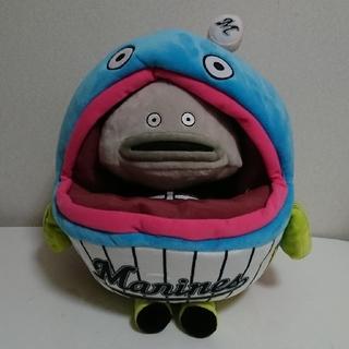 チバロッテマリーンズ(千葉ロッテマリーンズ)の千葉ロッテマリーンズ メガジャンボぬいぐるみ 謎の魚(ぬいぐるみ)