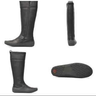カンペール(CAMPER)のカンペール サイズ 37 黒 ロングブーツ (ブーツ)