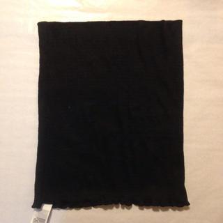 ムジルシリョウヒン(MUJI (無印良品))の無印良品 マタニティ シルク入り腹巻き 黒(マタニティ下着)