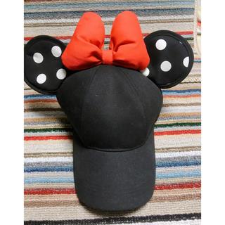 ディズニー(Disney)のディズニー 公式 帽子 ミニー  カチューシャ(その他)