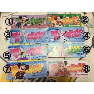 ディズニー(Disney)の東京ディズニーリゾート TODAY 5枚セット(印刷物)
