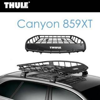 スーリー(THULE)のTHULE 859XT キャニオンルーフラック キャリア バスケット スーリー(車外アクセサリ)