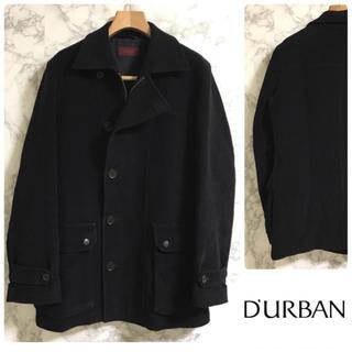 ダーバン(D'URBAN)のDURBAN コート ベルベット ブラック(トレンチコート)
