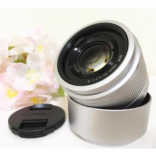 オリンパス(OLYMPUS)の❤️セール❤️新品 Panasonic 単焦点レンズ 25mm 美しいボケ感演出(レンズ(単焦点))