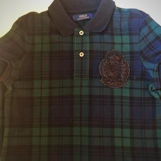 ポロラルフローレン(POLO RALPH LAUREN)の【 ポロ ラルフローレン 】タータンチェック ポロシャツ ワンピース(ポロシャツ)