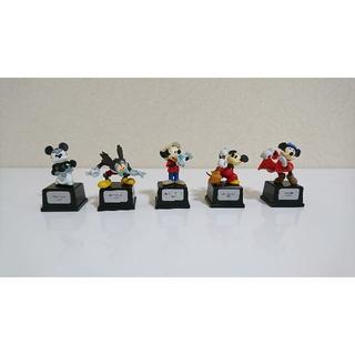ディズニー(Disney)のミッキー&ミニー ヒストリーフィギュア2 5体セット(アニメ/ゲーム)
