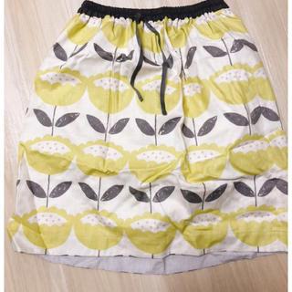 クアドロ(QUADRO)の北欧柄のスカート(ひざ丈スカート)