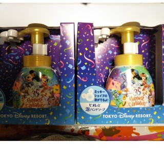 ディズニー(Disney)のディズニー ミッキーシェイプ ハンドソープ一つ 新品未開封(日用品/生活雑貨)