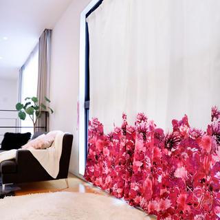 Rady - Rady リゾートフラワー カーテン 美品 クリーニング済 ピンク