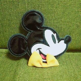 ディズニー(Disney)のミッキー パッチン(ヘアピン)