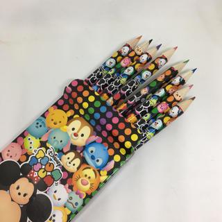 ディズニー(Disney)の8色えんぴつ ツムツム 新品(色鉛筆 )
