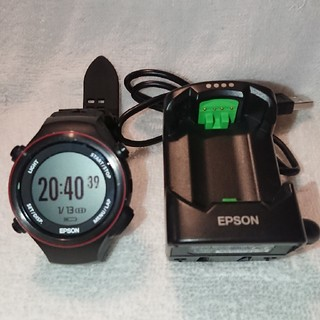 エプソンSF850(EPSON GPSウォッチ ランニングギア)