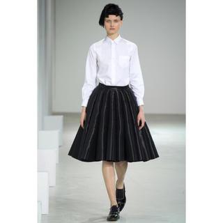 ジュンヤワタナベ(JUNYA WATANABE)の2015AW ジュンヤワタナベ コムデギャルソン 特殊加工スカート(ひざ丈スカート)