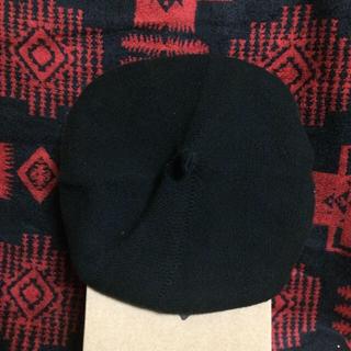 カシラ(CA4LA)のベレー帽 ユニセックス ブラック(ハンチング/ベレー帽)