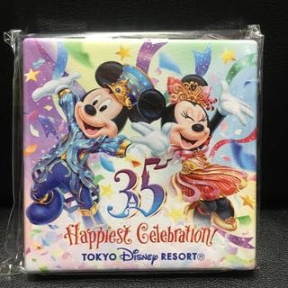 ディズニー(Disney)のディズニー 35週年 携帯用鏡(ミラー)
