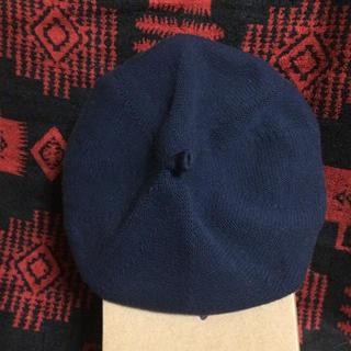 カシラ(CA4LA)のベレー帽 ユニセックス ネイビー(ハンチング/ベレー帽)
