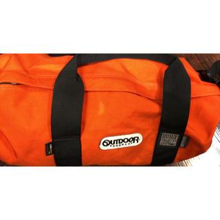 アウトドア(OUTDOOR)のアウトドア オレンジ 男女兼用 スポーツバッグ  元払可↓ほかにもあり 期間限定(ドラムバッグ)