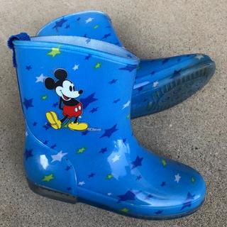 ディズニー(Disney)のミッキー 長靴 18cm(長靴/レインシューズ)