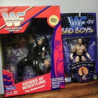 WWF (WWE)アンダーテイカー+ストーンコールド・スティーブ・オースチン(スポーツ)