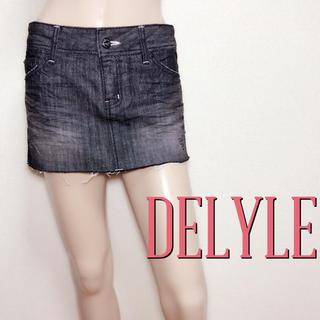 デイライル(Delyle)の可愛すぎ♪デイライル デザインデニムスカート♡マウジー ロデオクラウンズ(ミニスカート)