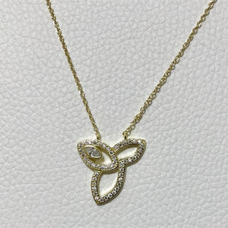 ハリーウィンストン(HARRY WINSTON)の cz diamond lily necklace(gold)(ネックレス)