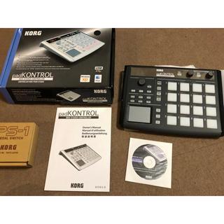 コルグ(KORG)のKORG PAD kontrol(MIDIコントローラー)