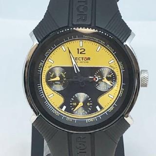 セクター(SECTOR)の未使用【SECTOR セクター】195 腕時計 クロノグラフ ラバー 電池交換済(腕時計(アナログ))