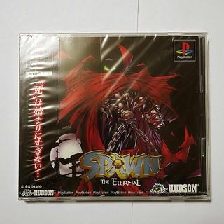 プレイステーション(PlayStation)の【PS】 スポーン ジ・エターナル 未開封 アメコミゲーム(家庭用ゲームソフト)