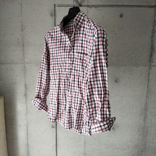 MUJI (無印良品) - 無印良品 ボタンダウンシャツ チェック MUJI