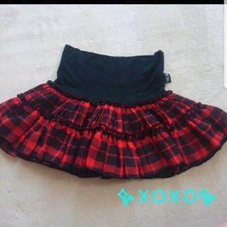 キスキス(XOXO)のXOXO♡チェックのスカート♡(スカート)
