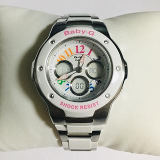 ベビージー(Baby-G)のMSG-302C軽量/極美品【 CASIO ★ Baby-G 】付属品完備(腕時計)