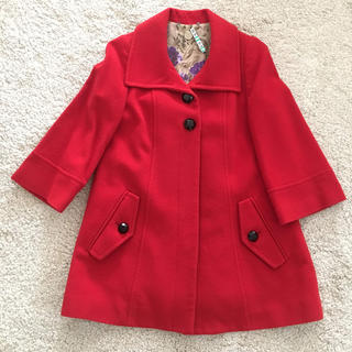 アバハウス(ABAHOUSE)のアバハウス REVISITATION(リヴィジテーション)真っ赤なコート♡(ロングコート)