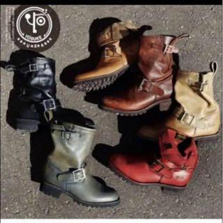 ヨースケ(YOSUKE)の本革 ブーツ 25cm(ブーツ)