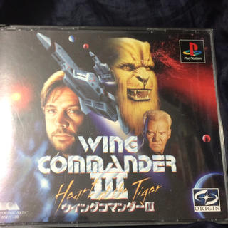 プレイステーション(PlayStation)のPS ウィングコマンダーIII レアゲー(家庭用ゲームソフト)