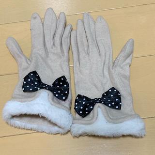リズリサ(LIZ LISA)のリズリサ 手袋 ほぼ未使用(手袋)