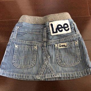 バディーリー(Buddy Lee)のLee ヒッコリー デニムスカート 90cm(スカート)