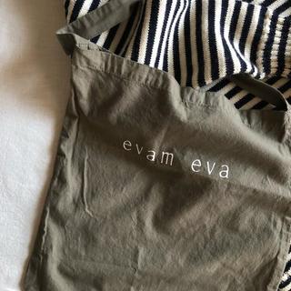 エヴァムエヴァ(evam eva)のevam eva ショップ袋 (ショップ袋)