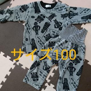 シマムラ(しまむら)の♡男の子 スターウォーズ モコモコパジャマ サイズ100cm(パジャマ)