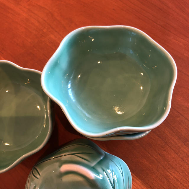 Jenggala(ジェンガラ)のJENGGALA バリ 小鉢 4枚 インテリア/住まい/日用品のキッチン/食器(食器)の商品写真