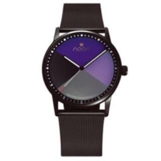 ヌーン(noon)のNoon 北欧時計 美品 ⚠︎電池交換必要(腕時計)