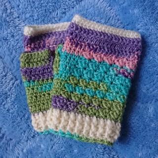 opal毛糸のハンドウォーマー(手袋)