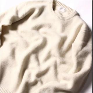 ネイバルリサーチ(NAVAL RESEARCH)のNAVAL ニット ニュージーランドウール100% 美品 Mサイズ(ニット/セーター)