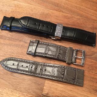 ハンティングワールド(HUNTING WORLD)の腕時計 革ベルト 22mm 6本セット 交換用革バンド(レザーベルト)