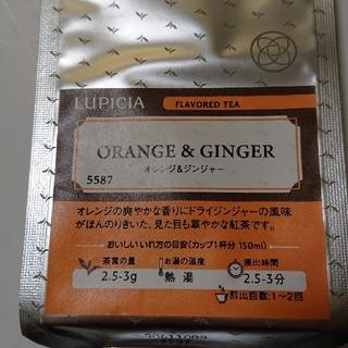 ルピシア(LUPICIA)の くまのこさん専用 ルピシア  オレンジ&ジンジャー  50g(茶)