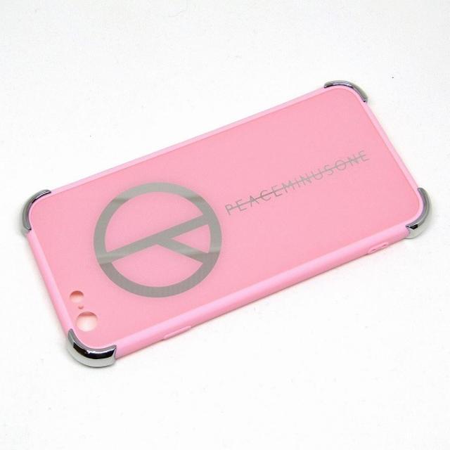 Iphoneカバー | ピースマイナスワン iPhoneケース ピンク //AWFの通販 by ほのか's shop|ラクマ