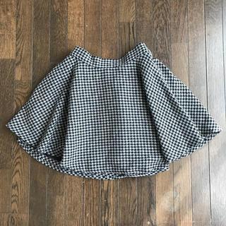 アンティローザ(Auntie Rosa)のAuntie Rosa アンティローザ 千鳥柄 スカート(ミニスカート)