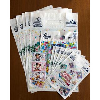 ディズニー(Disney)のディズニー ショップ袋 +チケット(使用済み)(遊園地/テーマパーク)