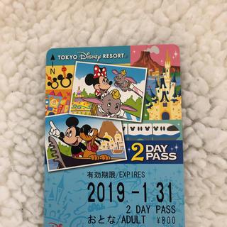 ディズニー(Disney)のディズニーリゾートライン 2day(遊園地/テーマパーク)
